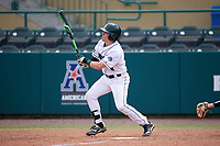 Dartmouth Big Green second baseman Sean Sullivan (4) at bat during a game against the South Florida Bulls on March 27, 2016 at USF Baseball Stadium in Tampa, Florida.  South Florida defeated Dartmouth 4-0.  (Mike Janes/Four Seam Images)