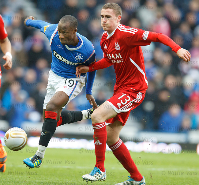 Sone Aluko and Clark Robertson