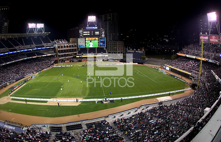 Petco Park stadium during the Chivas USA and Chivas de Guadalajara Clasico. Chivas USA and CD Chivas de Guadalajara played to 0-0 draw at Petco Park stadium in San Diego, California on Tuesday September 14, 2010.