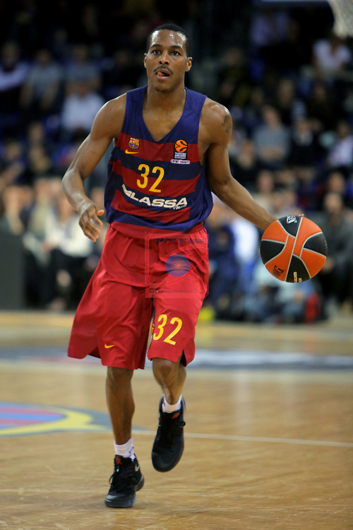 Turkish Airlines Euroleague 2016/2017.<br /> Regular Season - Round 24.<br /> FC Barcelona Lassa vs CSKA Moscow: 61-85.<br /> Alex Renfroe.