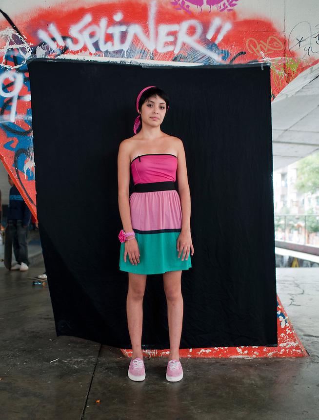 Beatriz Medina Vargas (under 18?) Portraits of Adolescents San Cosme skate park, in Mexico City. Release #18