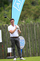 Alex kincaid (Cairndhu) during the final of the AIG Jimmy Bruen Ulster Final at Dungannon Golf Club, Dungannon, Tyrone, Ireland. 11/08/2017<br /> Picture: Fran Caffrey / Golffile