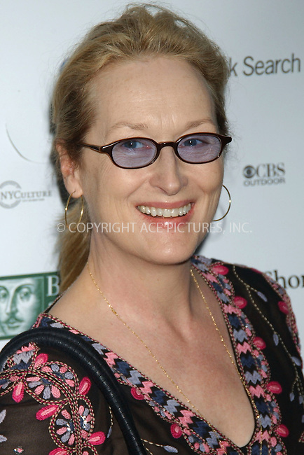 WWW.ACEPIXS.COM . . . . . ....June 28, 2006, New York City. ....Meryl Streep attends the Public Theater's opening night performance of 'Macbeth.....Please byline: KRISTIN CALLAHAN - ACEPIXS.COM.. . . . . . ..Ace Pictures, Inc:  ..(212) 243-8787 or (646) 769 0430..e-mail: info@acepixs.com..web: http://www.acepixs.com