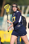 Santa Barbara, CA 02/19/11 - Maddie Palmer (Michigan #27) in action during the Michigan-UC Davis game at the 2011 Santa Barbara Shootout.