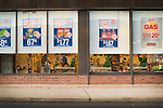Weis Market, 3rd Street, Williamsport windows and signs.
