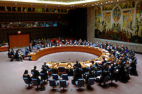 Members of the Security Council hold a meeting related to the precarious security situation in Mali, at the United Nations Headquarter in New York, 01/11/2016 Photo by VIEWpress