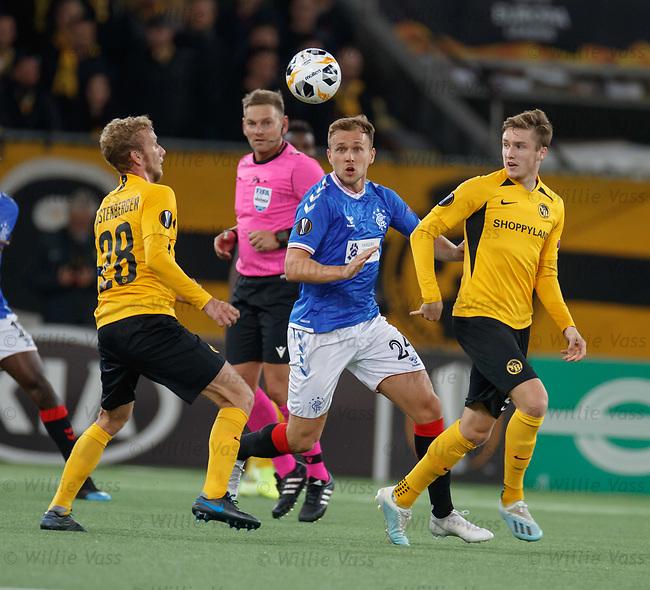 03.10.2019 Young Boys of Bern v Rangers: Greg Stewart