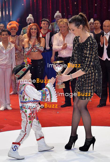 Prince Albert and Princess Charlene of Monaco, H. S. H. Princess Stéphanie of Monaco and her daughter Pauline Ducruet attend the 38th Monte-Carlo International Circus Festival Gala