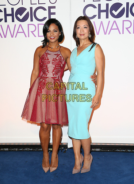 Beverly Hills, CA - November 03 Christina Milian, Ming-Na Wen Attending People's Choice Awards 2016 - Nominations Press Conference At The Paley Center for Media On November 03, 2015. <br /> CAP/MPI/UPAFS<br /> &copy;FSUPA/MPI/Capital Pictures