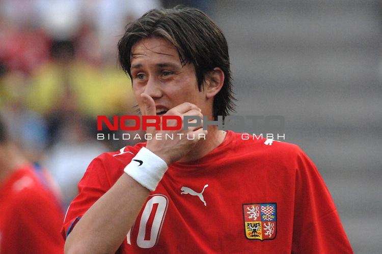 FIFA WM 2006 -  Gruppe E Vorrunde ( Group E )<br /> Play     #26 (17-Jun) - Tschechien - Ghana<br /> <br /> Tomas Rosicky (CZE)<br /> <br /> Foto &copy; nordphoto