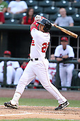 Great Lakes Loons Angelo Songco during a game vs. the Dayton Dragons at Dow Diamond in Midland, Michigan August 19, 2010.   Great Lakes defeated Dayton 1-0.  Photo By Mike Janes/Four Seam Images
