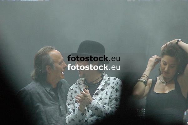 "Joan Manuel Serrat & Joaquín Sabina in Concert ""Dos Pajaros en un tiro"", 10.07.2007 Plaza de Toros"