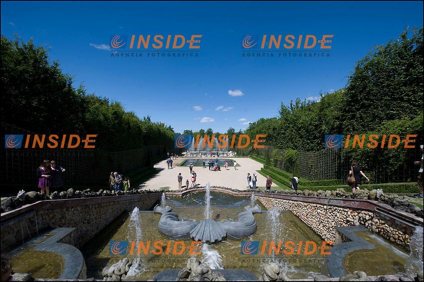 Castello di Versailles.1/7/2012.Foto Insidefoto / JB Autissier / Panoramic.ITALY ONLY