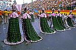 Desfile de carnaval da velha guarda da Mangueira, Rio de Janeiro. 1978. Foto de Juca Martins.