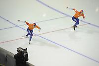 SPEEDSKATING: CALGARY: Olympic Oval, 03-12-2017, ISU World Cup, Kai Verbij - Hein Otterspeer , ©photo Martin de Jong