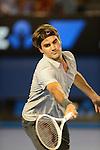 Roger Federer (SUI) Defeats Nikolay Davydenko (RUS) 6-3, 6-4, 6-4