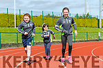 At the Glenflesk ag rite Run for the Bus in aid of Kerry Cancer support Group Health link Bus at  An Riocht AC Grounds Castleisland on Sunday were Chloe Cronin, Sophie Cronin and Ashley Cronin