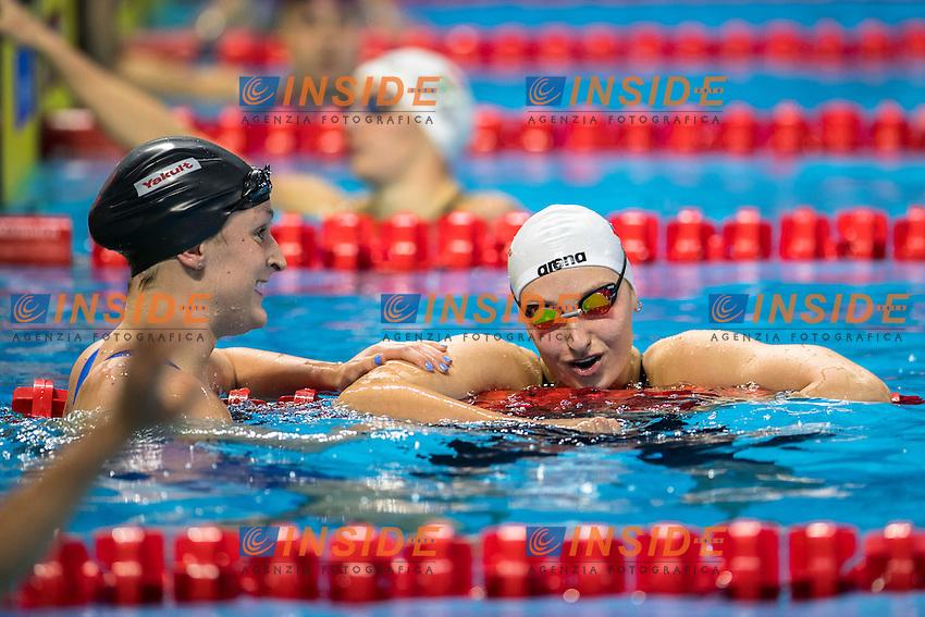 SMITH Leah USA Gold Medal<br /> POPOVA Veronika RUS Silver Medal<br /> Women's 400m Freestyle<br /> 13th Fina World Swimming Championships 25m <br /> Windsor  Dec. 9th, 2016 - Day04 Finals<br /> WFCU Centre - Windsor Ontario Canada CAN <br /> 20161209 WFCU Centre - Windsor Ontario Canada CAN <br /> Photo &copy; Giorgio Scala/Deepbluemedia/Insidefoto
