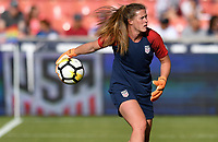 Sandy, Utah - Thursday June 07, 2018: Alyssa Naeher during an international friendly match between the women's national teams of the United States (USA) and China PR (CHN) at Rio Tinto Stadium.