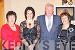 Barbara Dando, Vicky O'Donoghue, John and Bridget Sheahan Glenbeigh enjoying themselves at the Killorglin Rowing Club social in the Killarney Heights Hotel on Saturday night   Copyright Kerry's Eye 2008