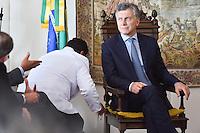 BRASÍLIA, DF, 07.02.2017 – MACRI-STF – O presidente da Argentin Mauricio Macri durante visita ao Supremo Tribunal Federal na tarde desta terça-feira, 07. (Foto: Ricardo Botelho/Brazil Photo Press/Folhapress)