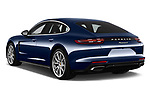 Car pictures of rear three quarter view of a 2018 Porsche Panamera 4 E-Hybrid 4 Door Sedan angular rear