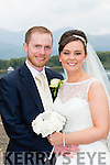 Marian Cullinane, Knockeenahone, Scartaglin, daughter of John Joe and Mary, and Dermot Hickey, Boherbue Cork son of Connie and Joan, who were married in St Stephen and John church, Castleisland, Fr Sean Horgan officiated at the ceremony assisted by Fr Dan O'Riordan on Saturday, best man was Conor Hickey, groomsmen were Tadhg Hickey, Chief bridesmaid was Helena Cullinane, with Niamh Cullinane, flowergirl was Leah Hickey, page boy was Cillian Ahern, the reception was held in the Malton Hotel and the couple will Boherbue