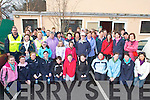 The large crowd that turned up in Milltown on Friday morning for the Hospice walk   Copyright Kerry's Eye 2008