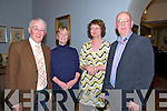 Writers Week Concert : Attending the Writers Week Concert at the Listowel Arms Hotel on Friday night last were Eamonn & Noreen O'Murchu, Pattie Anne O'Leary & Michael Lynch.