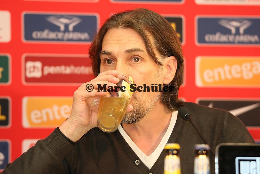 Der neue Trainer Martin Schmidt (Mainz 05)- 1. FSV Mainz 05 Trainervorstellung Martin Schmidt, Coface Arena