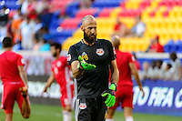 Harrison, NJ - Wednesday Aug. 03, 2016: Preston Burpo during a CONCACAF Champions League match between the New York Red Bulls and Antigua at Red Bull Arena.