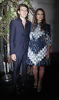NEW YORK, NY-September 06: James Righton, Keira Knightley at Chanel event  at Bergdor Goodman in New York. NY September 06, 2016. Credit:RW/MediaPunch