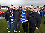 Rangers fans on tour