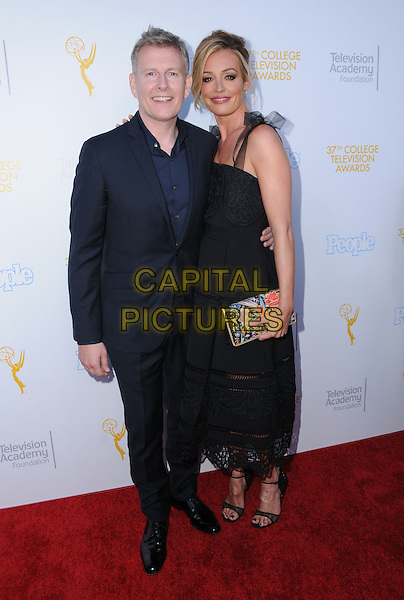 25 May 2016 - Los Angeles, California - Patrick Kielty, Cat Deeley. Arrivals for the 37th College Television Awards held at Skirball Cultural Center. <br /> CAP/ADM/BT<br /> &copy;BT/ADM/Capital Pictures