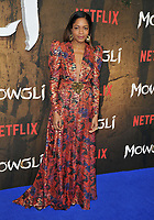 Naomie Harris at the &quot;Mowgli: Legend of the Jungle&quot; Netflix special screening, Curzon Mayfair, Curzon Street, London, England, UK, on Tuesday 04 December 2018. <br /> CAP/CAN<br /> &copy;CAN/Capital Pictures
