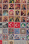 Fener District, Istanbul, Turkey, Turkish historic and Greek Orthodox religious items