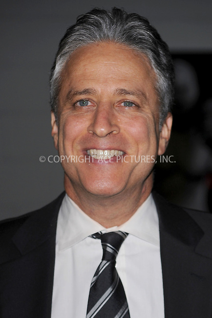WWW.ACEPIXS.COM . . . . . .November 17, 2010...New York City...  Jon Stewart attends the Robert F. Kennedy Center for Justice & Human Rights Ripple of Hope awards dinner at Chelsea Piers on November 17, 2010 in New York City....Please byline: KRISTIN CALLAHAN - ACEPIXS.COM.. . .Ace Pictures, Inc: ..tel: (212) 243 8787 or (646) 769 0430..e-mail: info@acepixs.com..web: http://www.acepixs.com .