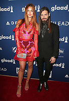 13 April 2018 - Beverly Hills, California - Jennifer Akerman, Tom Payne. 29th Annual GLAAD Media Awards at The Beverly Hilton Hotel. <br /> CAP/ADM/FS<br /> &copy;FS/ADM/Capital Pictures