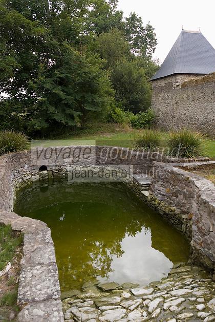 Europe/France/Bretagne/35/Ille et Vilaine/Saint-Malo: Malouinière du Puits Sauvage - la piscine à Chevaux
