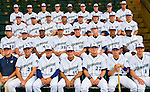 24 June 2008: Vermont Lake Monsters Team Photo. Baseball Card Image for 2008. For in-house use by the Vermont Lake Monsters Only. Editorial or other use of images by other publications or media outlets must secure licensing from the photographer Ed Wolfstein prior to publication, and is based on standards of circulation, and placement in a given publication...Mandatory Credit: Ed Wolfstein.