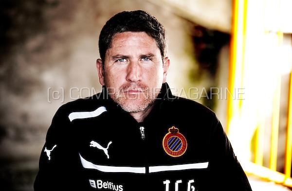 Spanish football manager Juan Carlos Garrido (Belgium, 09/05/2013)