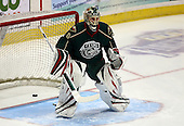 February 24th 2008:  Anton Khudobin (30) of the Houston Aeros skates up ice during a game vs. the Rochester Amerks at Blue Cross Arena at the War Memorial in Rochester, NY.  The Aeros defeated the Amerks 4-0.   Photo copyright Mike Janes Photography 2008