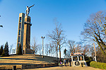 Vulcan Park and Museum located on the top of Red Mountain and overlooks the city of Birmingham, Alabama.  Vulcan is the world's largest cast iron statue, made of 100,000 pounds of iron and stands at a massive 56 feet tall.  The museum documents the history of the steel industry in the city of Birmingham and is open year round.