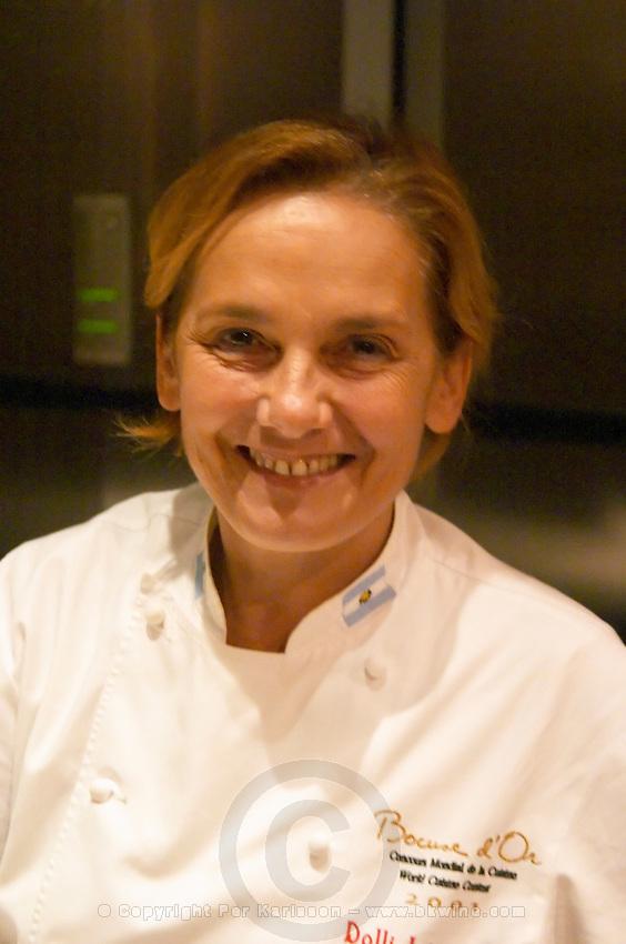 Dolly Irigoyen, famous chef and TV presenter. The Dolly Irigoyen - famous chef and TV presenter - private restaurant, Buenos Aires Argentina, South America Espacio Dolli