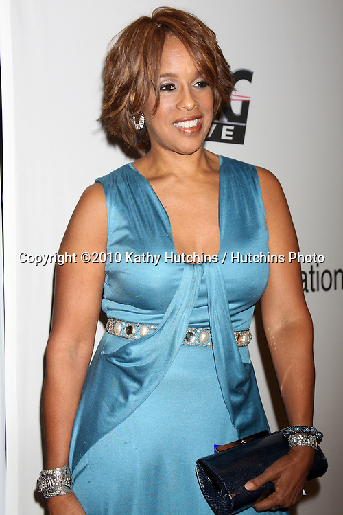 Gayle King.arriving at the Clive Davis Pre-Grammy Party .Beverly Hilton Hotel.Beverly Hills, CA.January 30, 2010.©2010 Kathy Hutchins / Hutchins Photo....