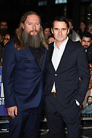 "David and Alastair MacKenzie<br /> arriving for the London Film Festival screening of ""Outlaw King"" at the Cineworld Leicester Square, London<br /> <br /> ©Ash Knotek  D3446  17/10/2018"