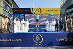 Magnus Cort Nielsen (DEN) Astana Pro Team wins the Young Riders White Jersey at the end of Stage 5 The Meraas Stage final stage of the Dubai Tour 2018 the Dubai Tour&rsquo;s 5th edition, running 132km from Skydive Dubai to City Walk, Dubai, United Arab Emirates. 10th February 2018.<br /> Picture: LaPresse/Massimo Paolone | Cyclefile<br /> <br /> <br /> All photos usage must carry mandatory copyright credit (&copy; Cyclefile | LaPresse/Massimo Paolone)