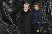 Ridley Scott and Giannina Facio attend the World Premiere of ALIEN CONVENANT. London, UK. 04/05/2017 | usage worldwide /MediaPunch ***FOR USA ONLY***