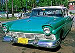 Carros antigos em Havana, Cuba. Foto de Nair Benedicto.