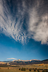 Clouds over San Juan Mountains, Colorado